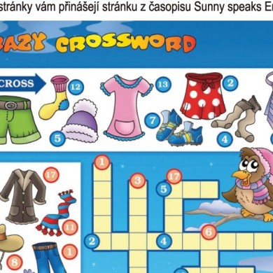 Crazy crossword