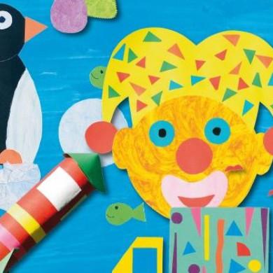 Hrátky pro šikovné ruce a Velká kniha nápadů pro malé šikulky