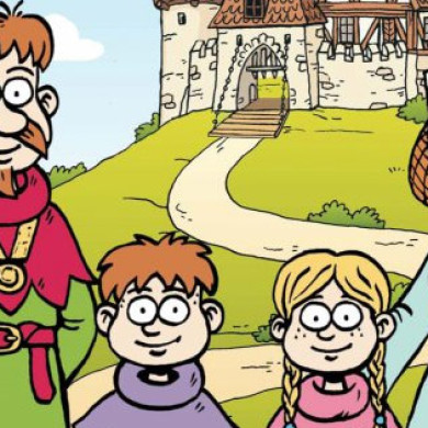 Klára a Honza Smolíkovi – Na hradě Bradě