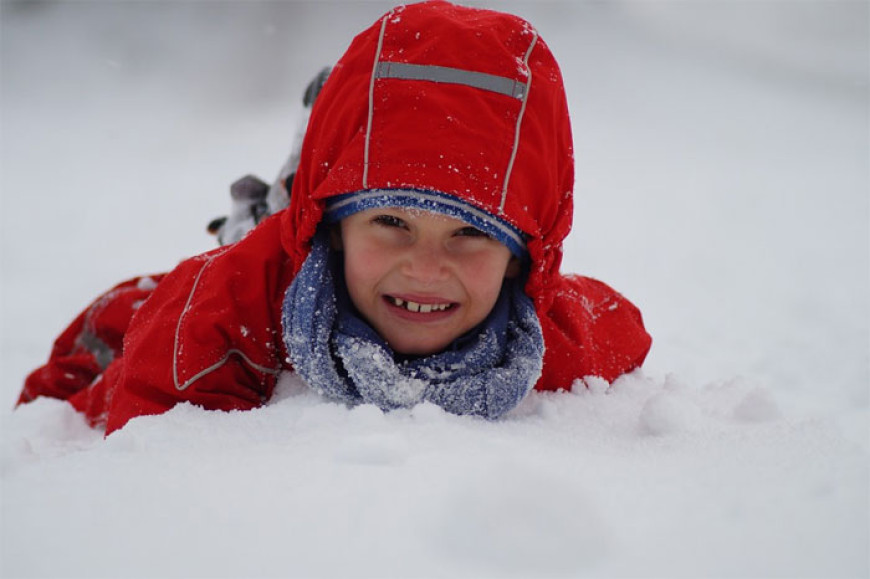 Bílá zima – básnička