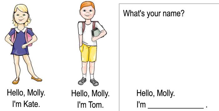 Angličtina s krtkem Molly – 1. lekce