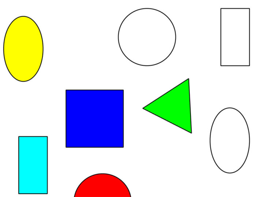 Barvy a tvary
