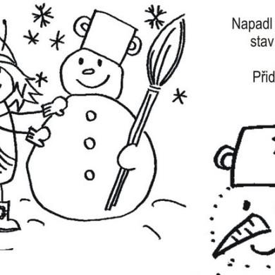 Beruška a sněhulák