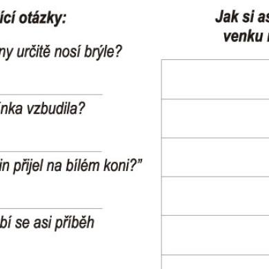 Čeština hrou: Sníh