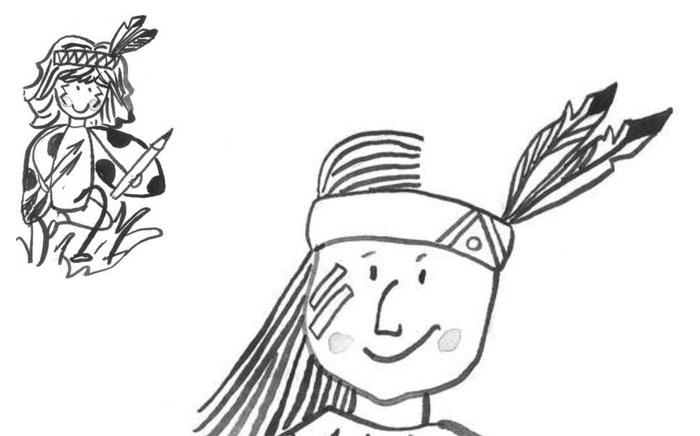 Beruška a indián