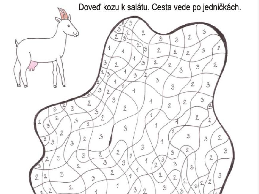 Doveď kozu k salátu
