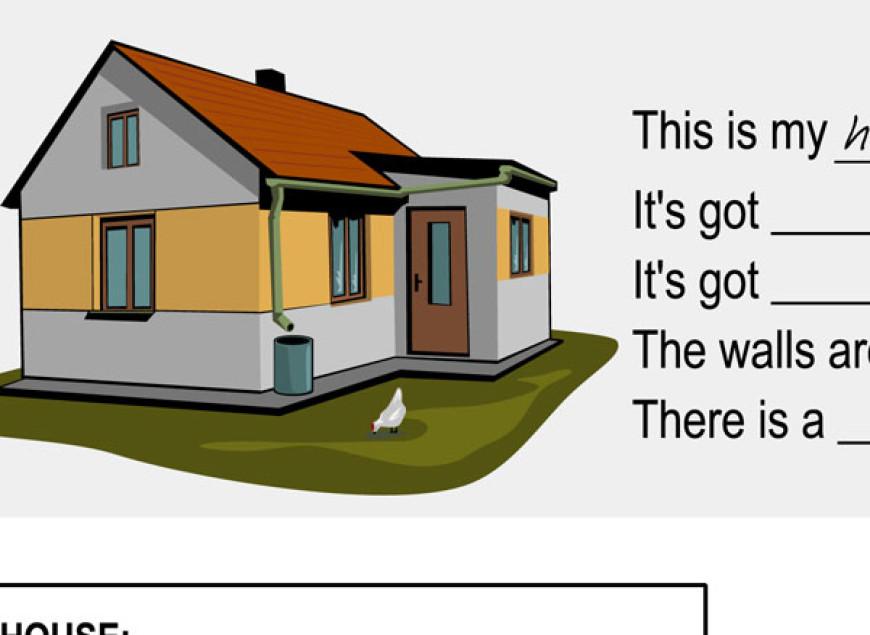Angličtina pro děti: my house