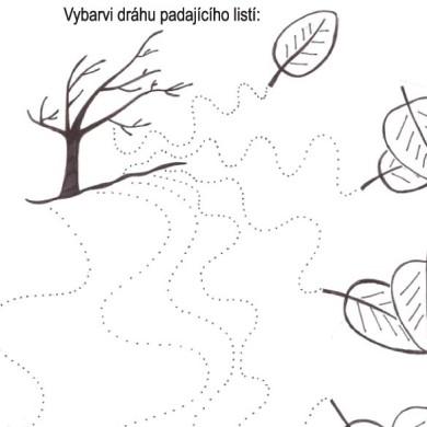 Uvolňujeme ruku: Padající listí