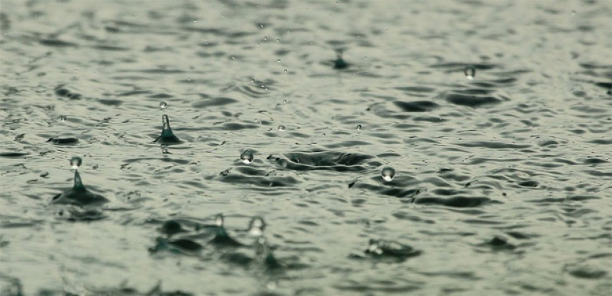 Básnička o kapce deště