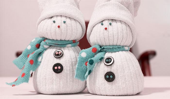 Spokojený sněhulák