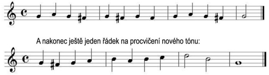 Škola hry na zobcovou flétnu zdarma – LEKCE 25.