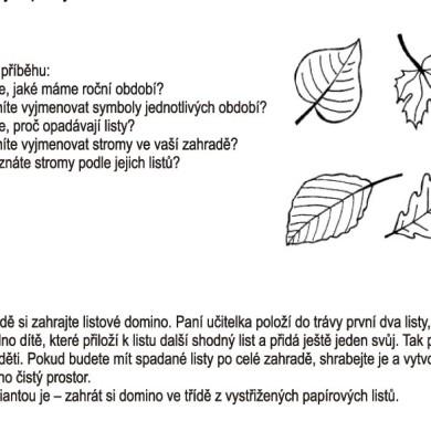 Toníkův rok: Listy
