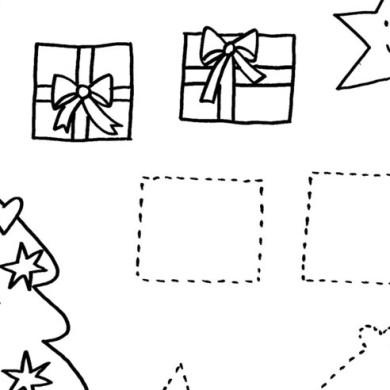 Vánoční tvary