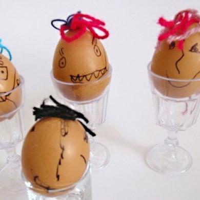 Pojďte zdobit vajíčka i s prťaty!