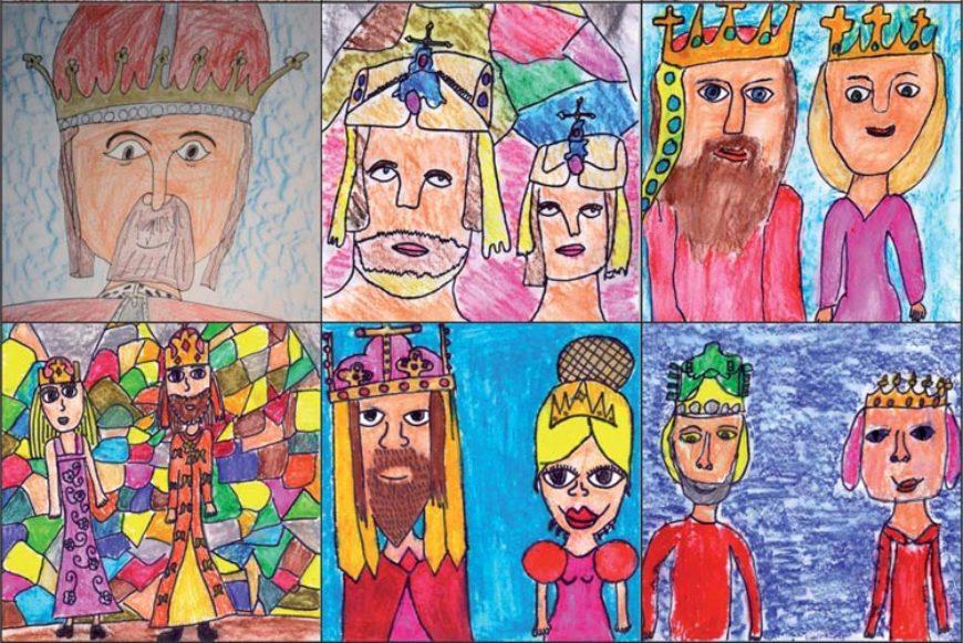 Pexeso – Karel IV. očima dětí