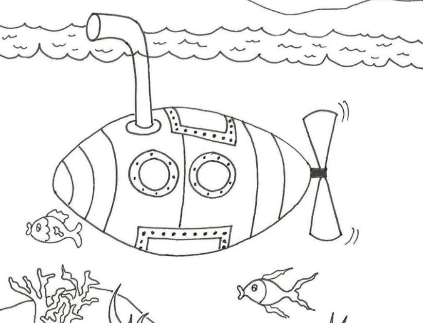 Ponorka – najdeš deset rozdílů?