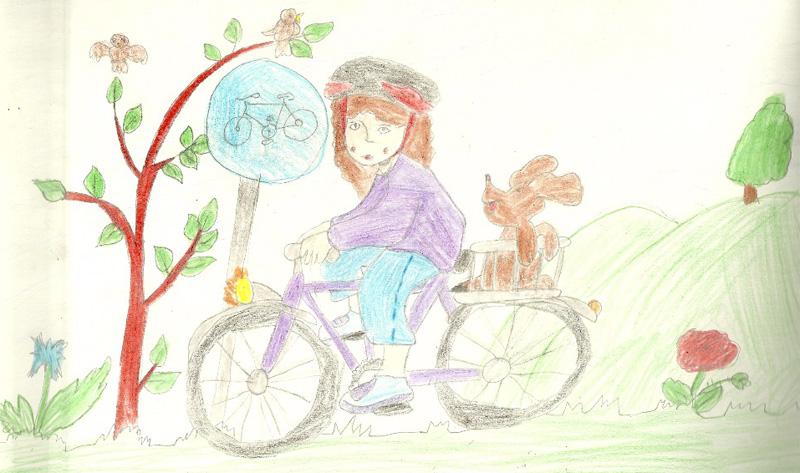 Básnička o cyklistovi
