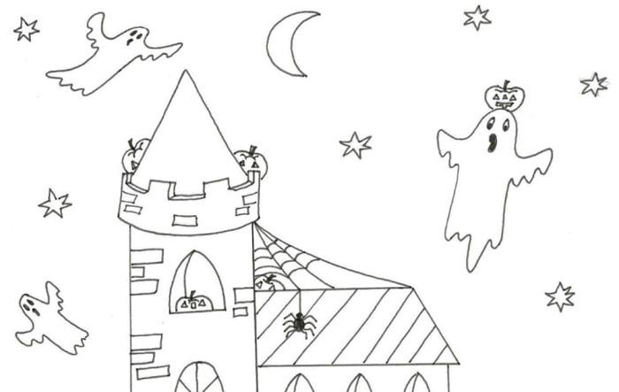 Halloweenská omalovánka – najdeš všechny dýně?