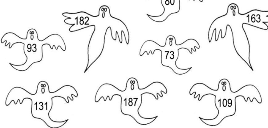 Písemné sčítání s duchy