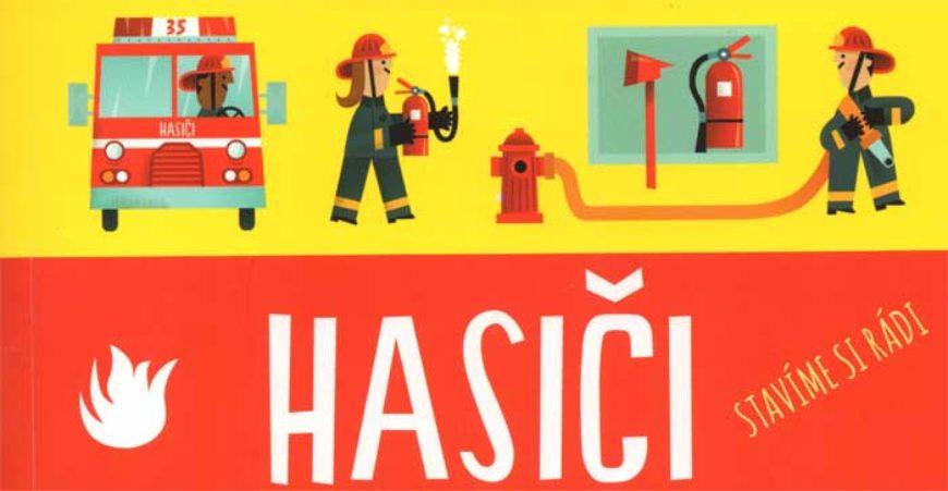 Hasiči – rozkládací 3D model hasičské stanice