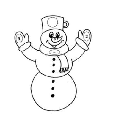 Počítání se sněhuláky