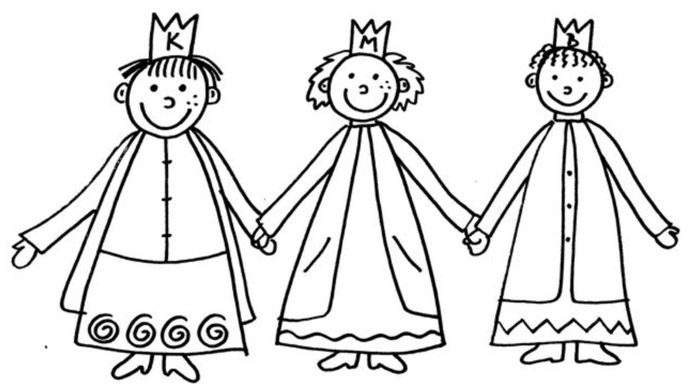 Svátek Tří králů – čti a doplň