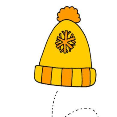 Vybarvi si čepici
