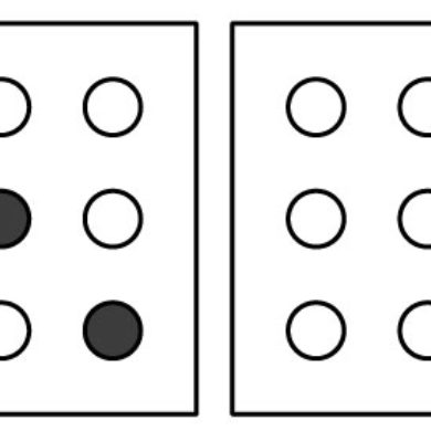 Sítě s puntíky – 6 pracovních listů