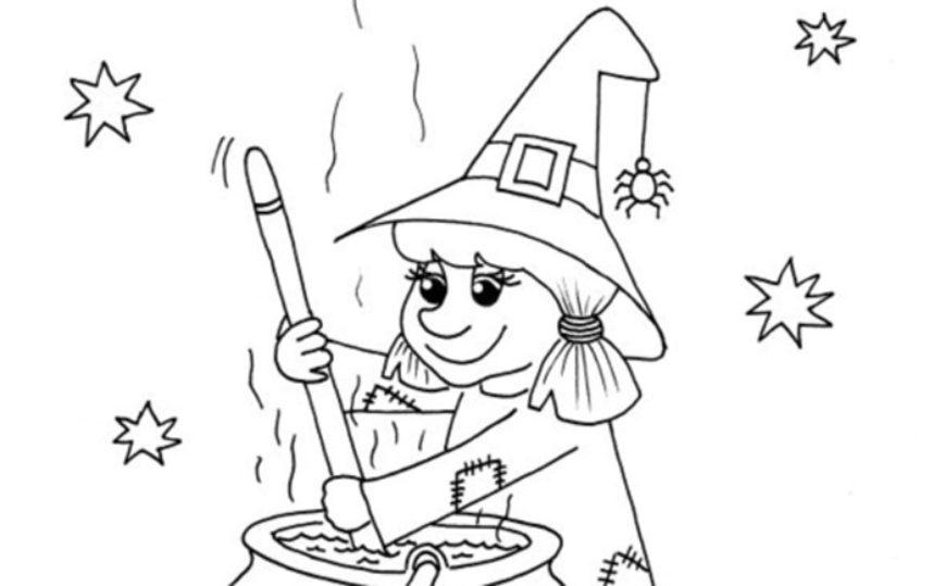 Čarodějnice s kotlíkem – najdete deset rozdílů?