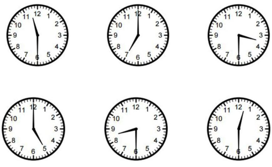 Kolik je hodin? Vyluštěte tajenku