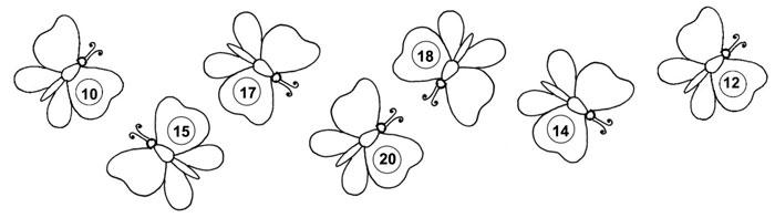 Počítání s motýly
