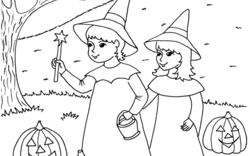 Halloween – najdi 10 rozdílů