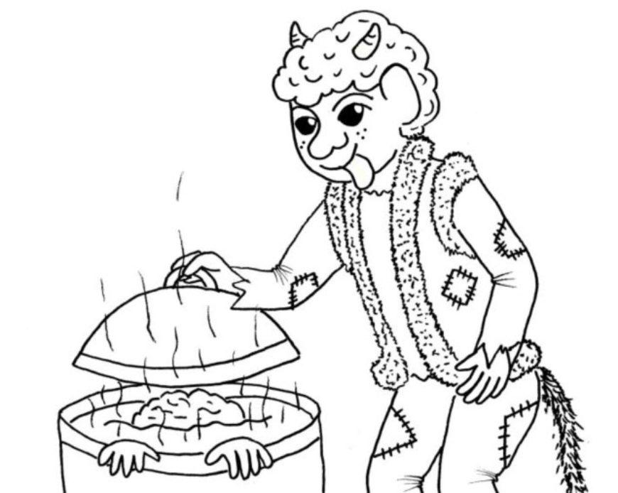 Čert s kotlem – hledání rozdílů