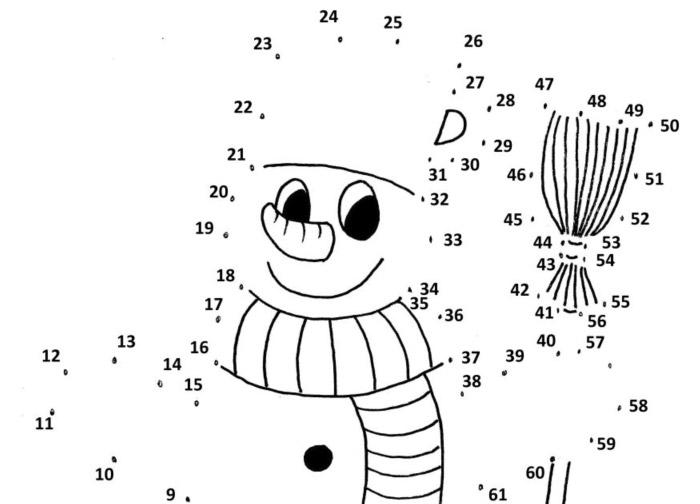 Spojovačka – sněhulák