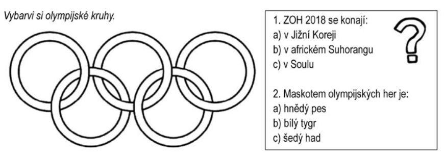 Zimní olympijské hry 2018 – Rozumíš textu?