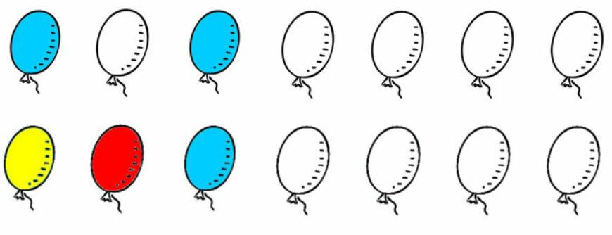 Balónky – doplň řady