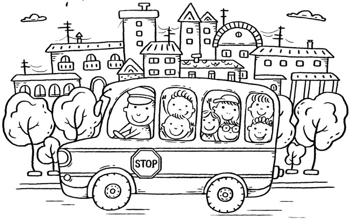 Jedeme autobusem